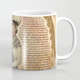 Bob Dylan - Find Out Something Only Dead Men Know Coffee Mug