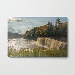 Upper Tahquamenon Falls | The Upper Peninsula | Tahquamenon Falls State Park, Michigan | John Hill Metal Print