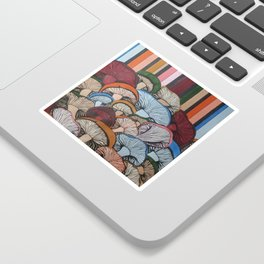 Colorful Mush Sticker