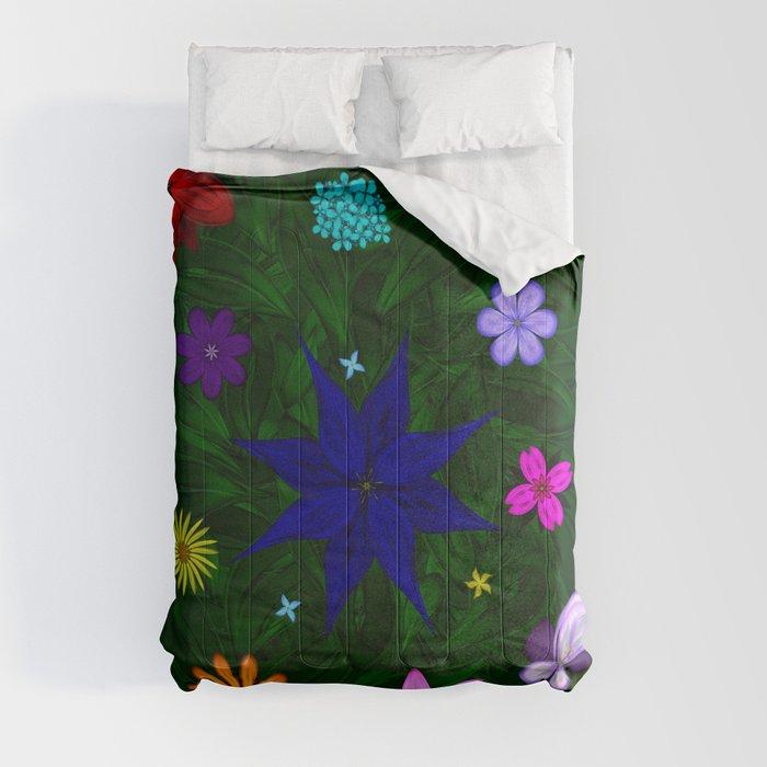 Flying Above the Garden Comforters