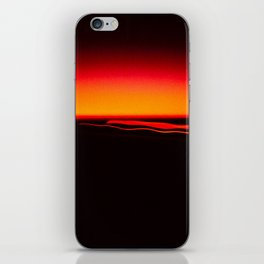 Night Lights Four Red Tail Lights iPhone Skin