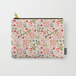 Birds and flowers 001 Carry-All Pouch