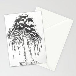 InkCap mushroom Stationery Cards