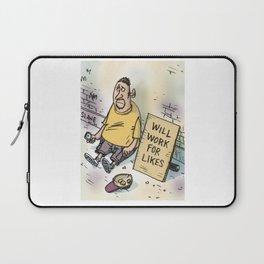 Begging For Likes  Laptop Sleeve