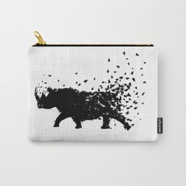 Save the Rhinos fading away Carry-All Pouch