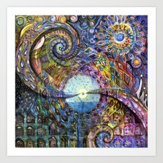 Water Consciousness Art Print