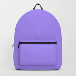 The Future Is Bright Lilac - Solid Color - Purple Backpack