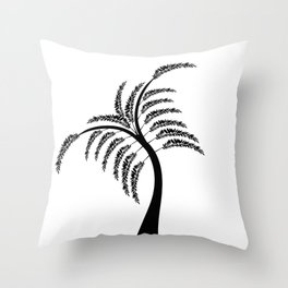 Art Tree Throw Pillow