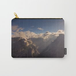 Sunrays Over Half Dome Carry-All Pouch