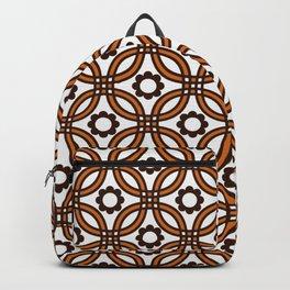 Retro Nineteen Seventies Design Backpack