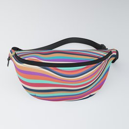 African Waves No2 Fanny Pack