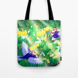 The seasons | Summer birds Tote Bag