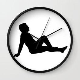 Daddy Mudflap Wall Clock