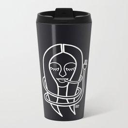 unnplug yourself Metal Travel Mug