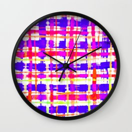 Colorful Ska Wall Clock