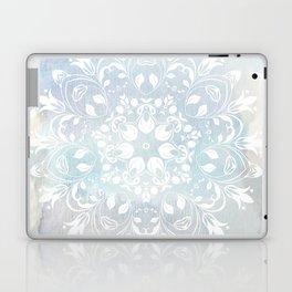 pastel lace design Laptop & iPad Skin
