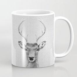 Deer 2 - Black & White Coffee Mug