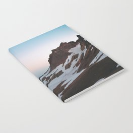 Alpine Lake Moonrise Notebook