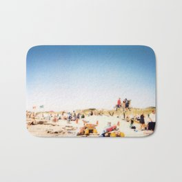 New York Summer at the Beach #1 Bath Mat