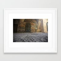 jewish Framed Art Prints featuring Jewish Quarter by colLABorate: ideas & images