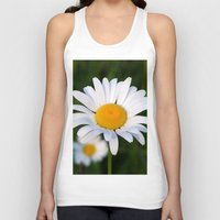 daisies Tank Tops featuring Daisies by Rose Etiennette