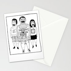 BACK OFF Stationery Cards