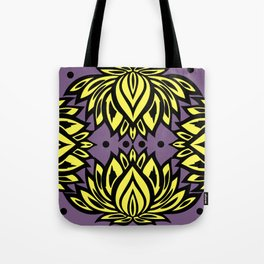 Waterlilies(purple background) Tote Bag