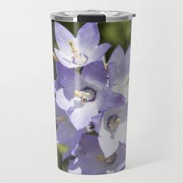 bee and meadow bellflower Travel Mug