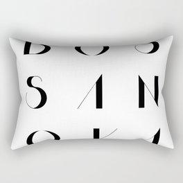 Bossa Nova 2 Rectangular Pillow