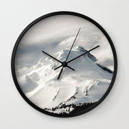 Marvelous Mount Hood Wall Clock