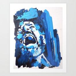INTERNAL MONOLOGUE Art Print