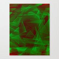 Green Eyed Monster Canvas Print