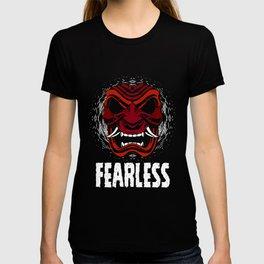 Fearless Samurai T-shirt