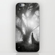 Black and White - Autumn Song iPhone & iPod Skin