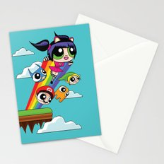 The Power Nyan Girl Stationery Cards