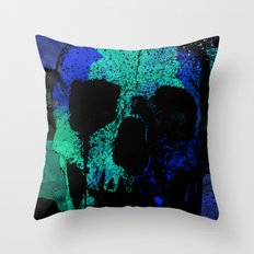 SKULLPOP XVI Throw Pillow