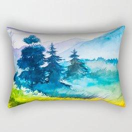 Autumn scenery #10 Rectangular Pillow
