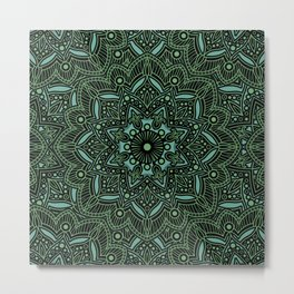 Mandala Collection 14 Metal Print