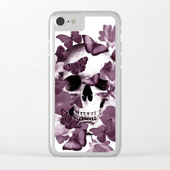Back to earth Clear iPhone Case