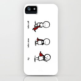 Fly Cape iPhone Case