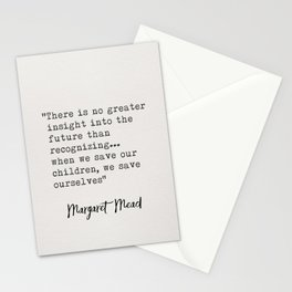 Margaret Mead Stationery Cards