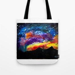 Majestic Night Sky Tote Bag