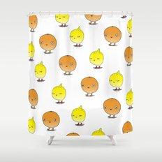 Oranges and Lemons Shower Curtain