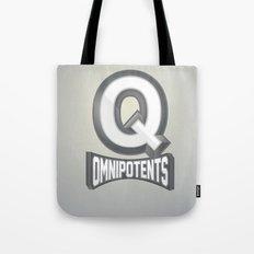 Q Omnipotents Tote Bag
