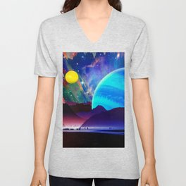A Sunday Afternoon On The Island Of A Distant Planet Unisex V-Neck