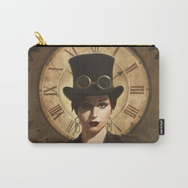 Mechanism, Steampunk Pin-Up Carry-All Pouch