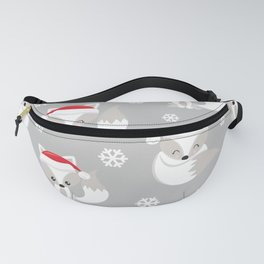 THE SPELL OF THE CHRISTMAS FOXES 2 Fanny Pack