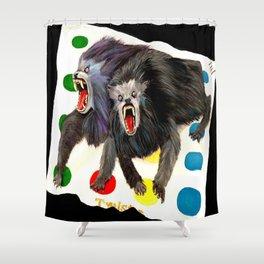 Werewolves with a Twist Shower Curtain