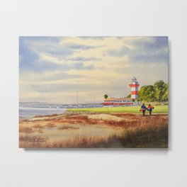 Harbor Town Golf Course 18th Hole South Carolina Metal Print