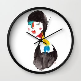 Stains 13 Wall Clock